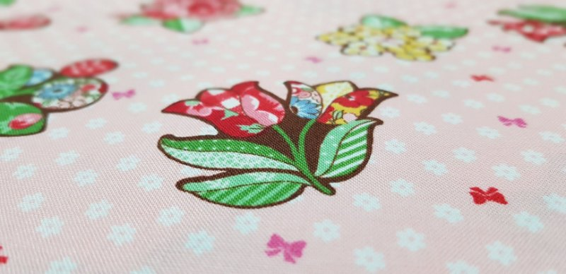 Flower. 30's Collection. Tec.Japonês3200001 - 50x55cm