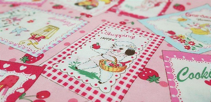 Puppies. 30's Collection. Tec.Japonês. 3400001 - 50x55cm
