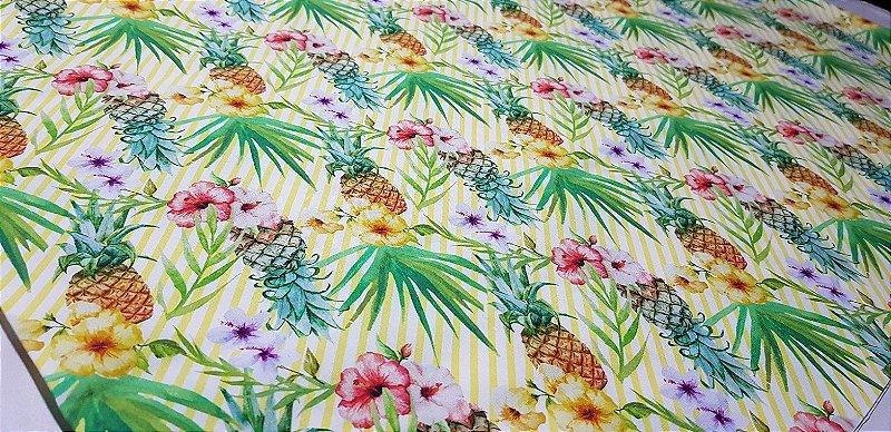Flor de Abacaxi. Tec.Digital-50x140cm