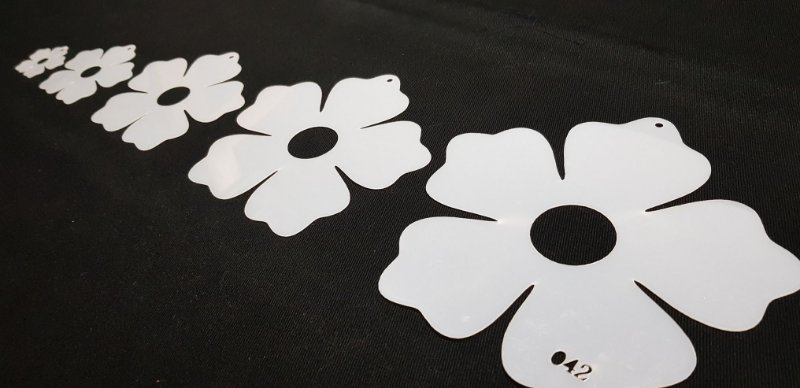 Molde Flor de Natal para Patch Apliqué (42)