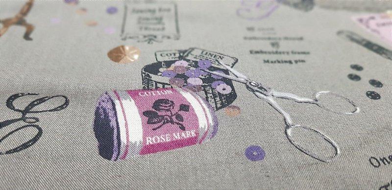 Sewing's Stuff. Algodão Japonês. 3400013 (50x55cm)