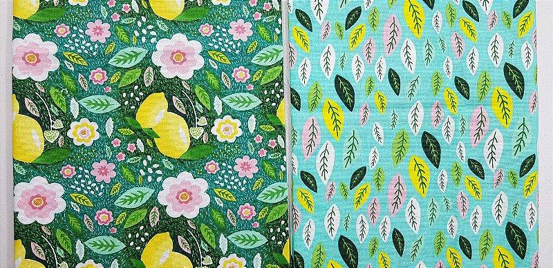 Verde-Limão Composê-2x(50x70cm)