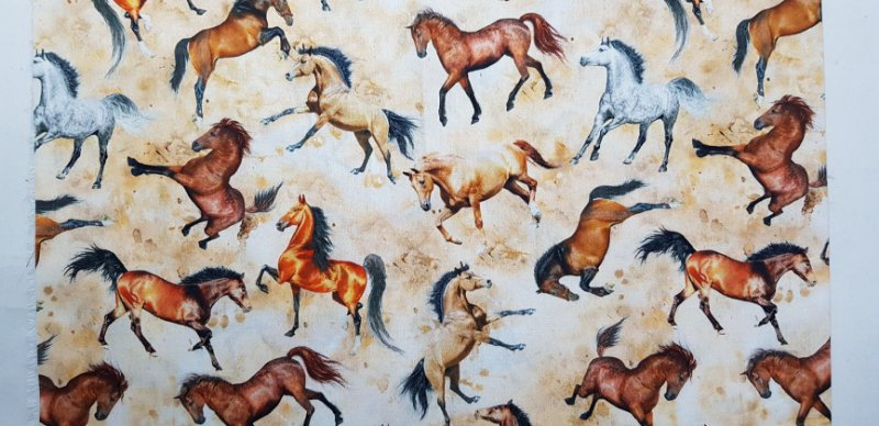 Cavalos Tec Digital NT0029 (50x70cm)