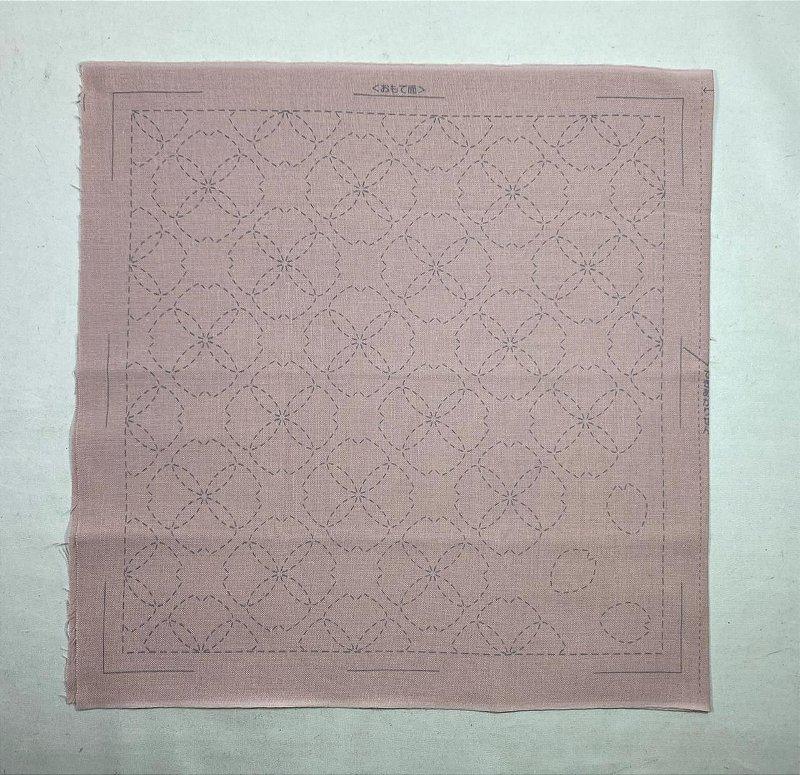 Hana-Fukin Sashiko Sampler. 31x31cm. Rs Claro No. 358