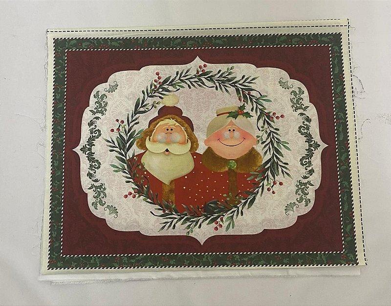 Painel Jogo Americano MR & MRs Santa Claus  NP00036