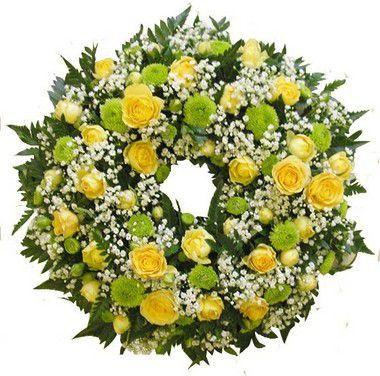 Coroa de Flores Brasilia Especial 12 | Entrega Grátis | Dizeres Grátis