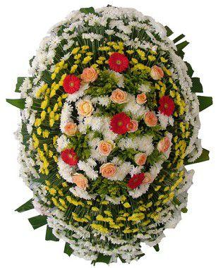 Coroa de flores Brasília 3 | Entrega Grátis | Dizeres Grátis