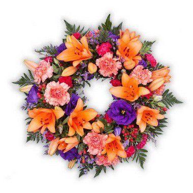 Coroa de Flores Brasilia Especial 6 | Entrega Grátis | Dizeres Grátis