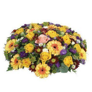 Coroa de Flores Brasilia Especial 7 | Entrega Grátis | Dizeres Grátis