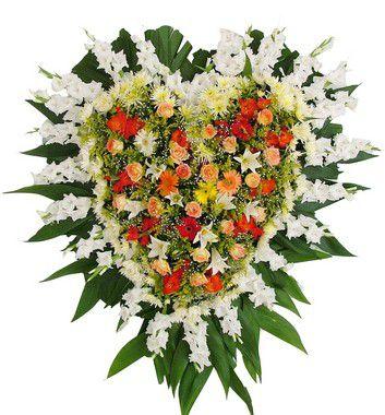 Coroa De Flores Brasília 15 | Entrega Grátis | Dizeres Grátis