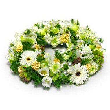 Coroa de Flores Brasilia Especial 3 | Entrega Grátis | Dizeres Grátis