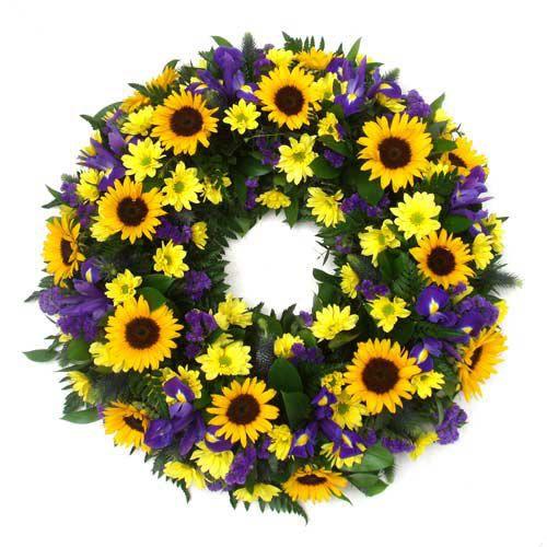 Coroa de Flores Brasilia Especial 10 | Entrega Grátis | Dizeres Grátis