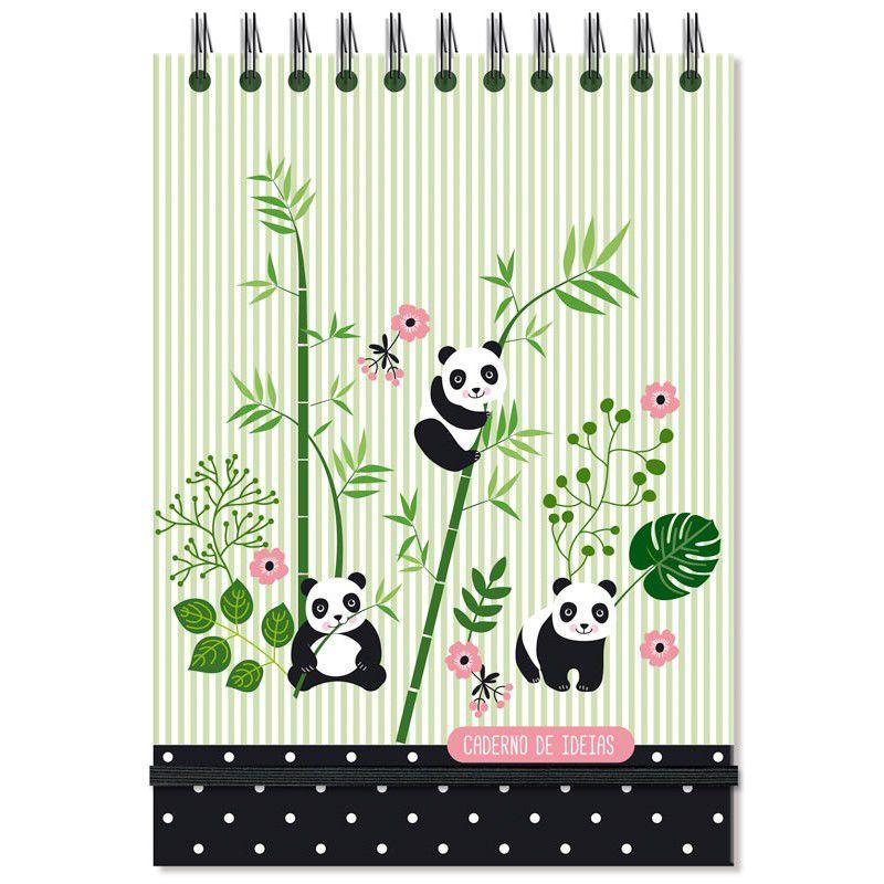 Caderno De Ideias E Anotacoes Panda Caderno De Desenho Papel