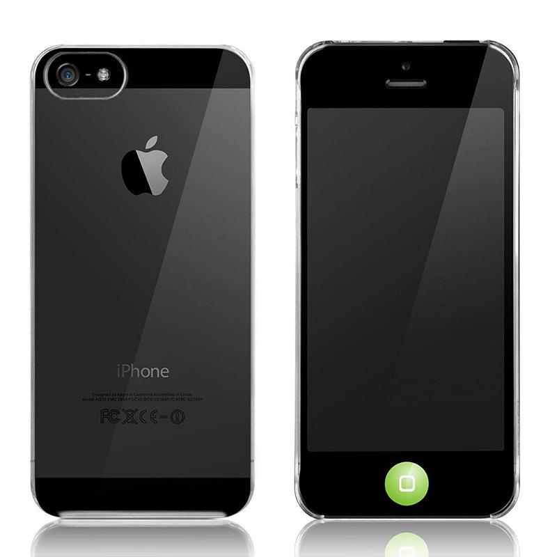 Granite Ultra Slim - Capa para iPhone SE e iPhone 5S + Película