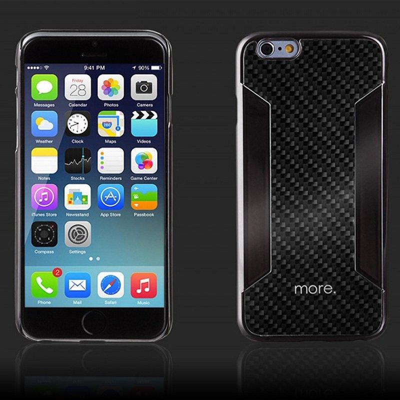 Para Blaze CX -  Capa Fibra de Carbono para iPhone 6s e iPhone 6 (tela 4,7)