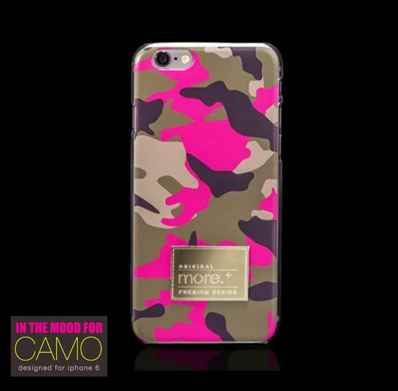 Camo in The Mood | Capa para iPhone 6s e iPhone 6 | Camulflada rosa