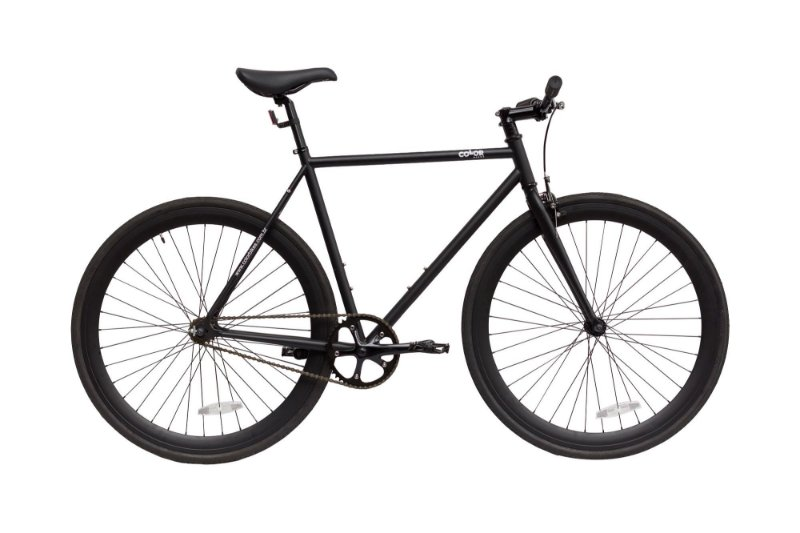 Bicicleta Fixa ou Roda Livre Colorbikes Preta Tornado