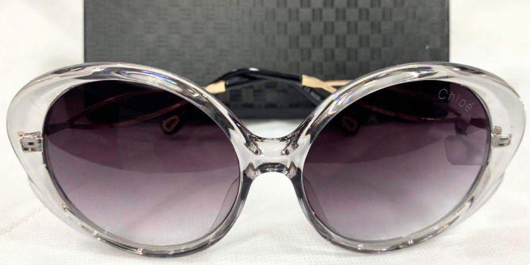 600ebb46048a1 Óculos de Sol Chloé Oval Petal 57mm - Griffe dos Olhos