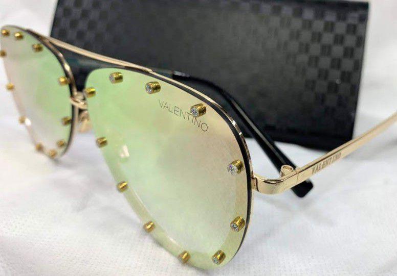 Valentino VA 2013 3005 - Óculos de Sol - Tamanho 58  Degradê Espelhado a310d1bfe3