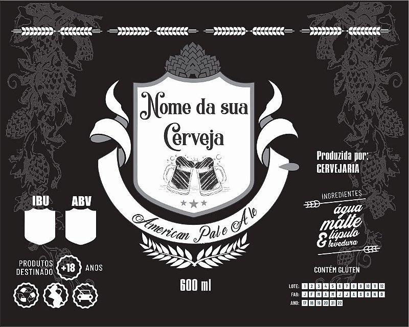 ARTE para Rótulo de Cerveja Artesanal