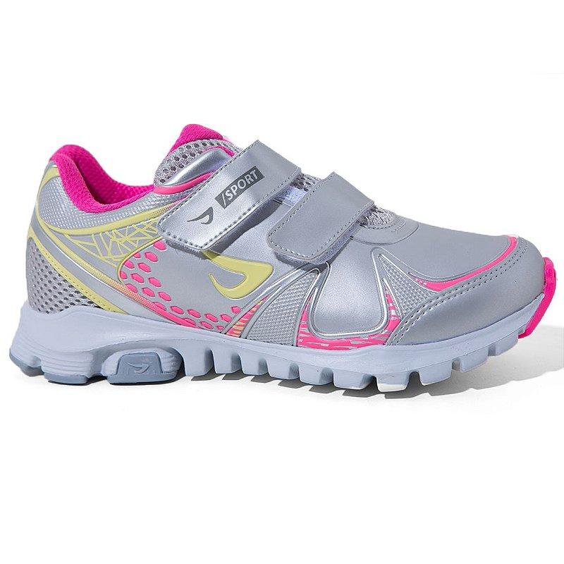 907449330 Tênis Ortopé 2117077 Casual Menino Infantil Prata Pink - Calçados  Femininos, Calçados Masculinos, Calçados Online - Território da Moda