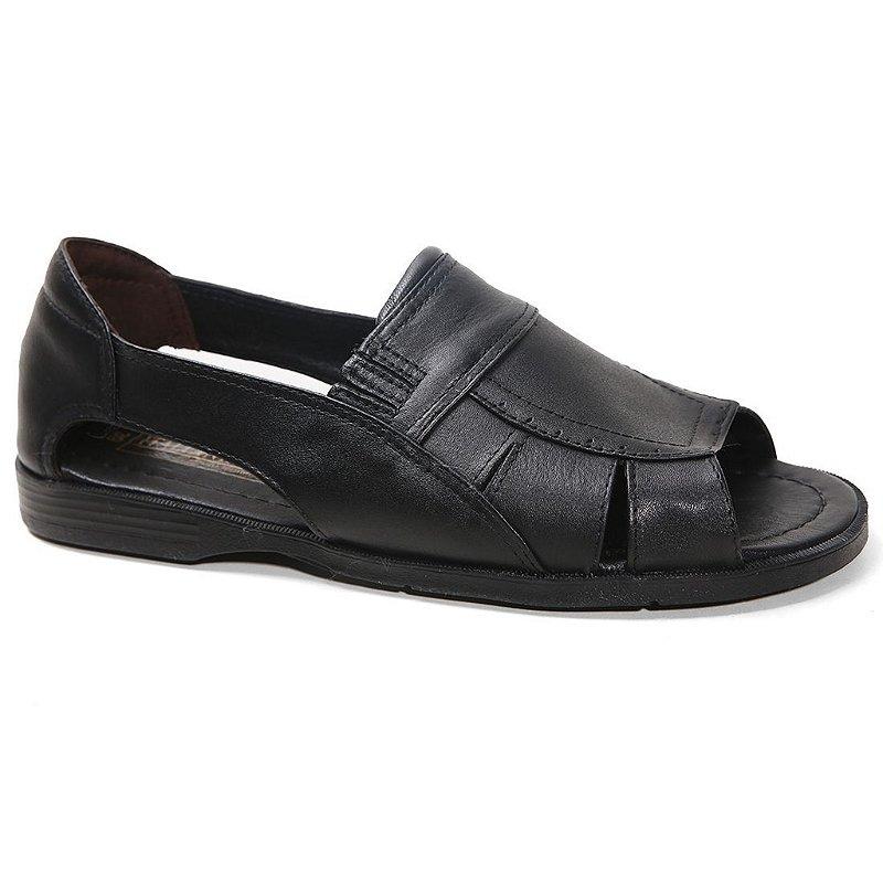 08f3eab82 Sandália Italianinho 34503 Masculina Preto - Calçados Femininos, Calçados  Masculinos, Calçados Online - Território da Moda