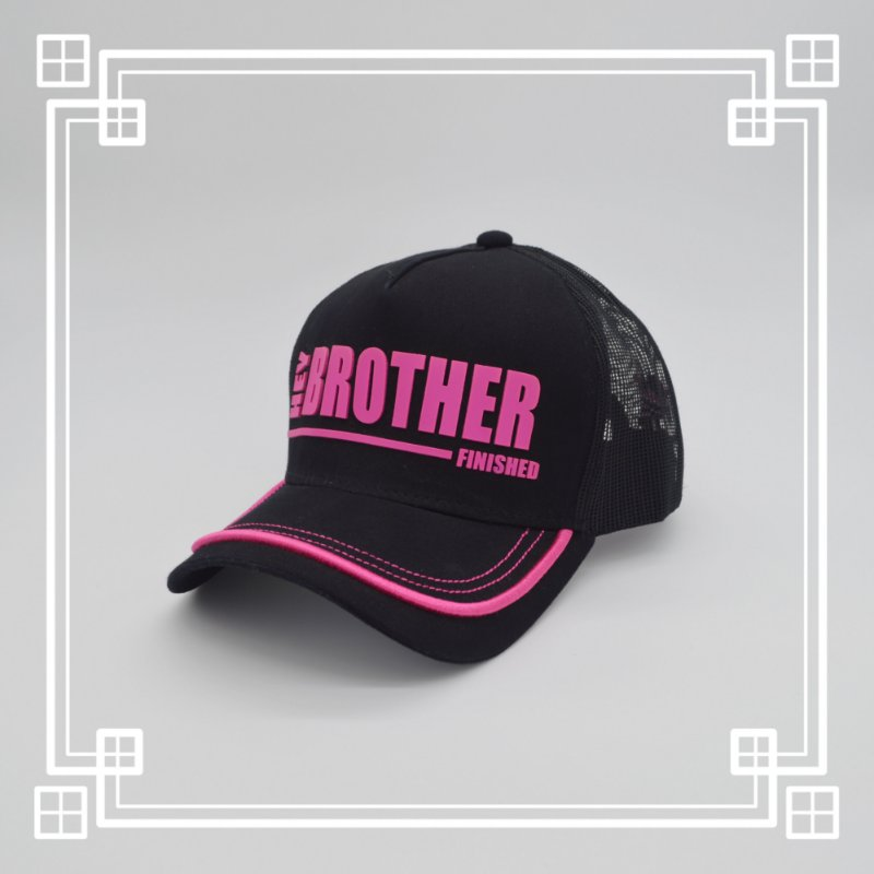 Boné Hey Brother! Hey Sister! - PINK BLACKOUT