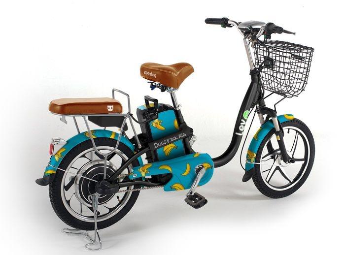 E-bike Lev + Zee.Dog