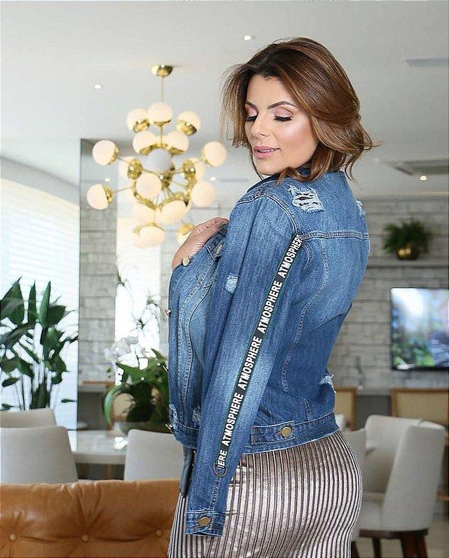 Jaqueta Jeans Escuro Atmosphera