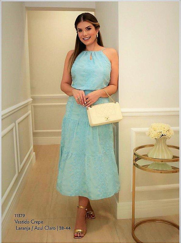 Vestido Laise Azul