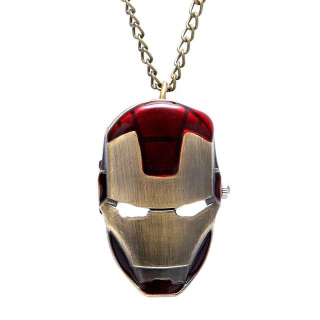 de194786e75 Relógio de Bolso - Homem de Ferro - Mil Coisas Legais - O seu mundo ...