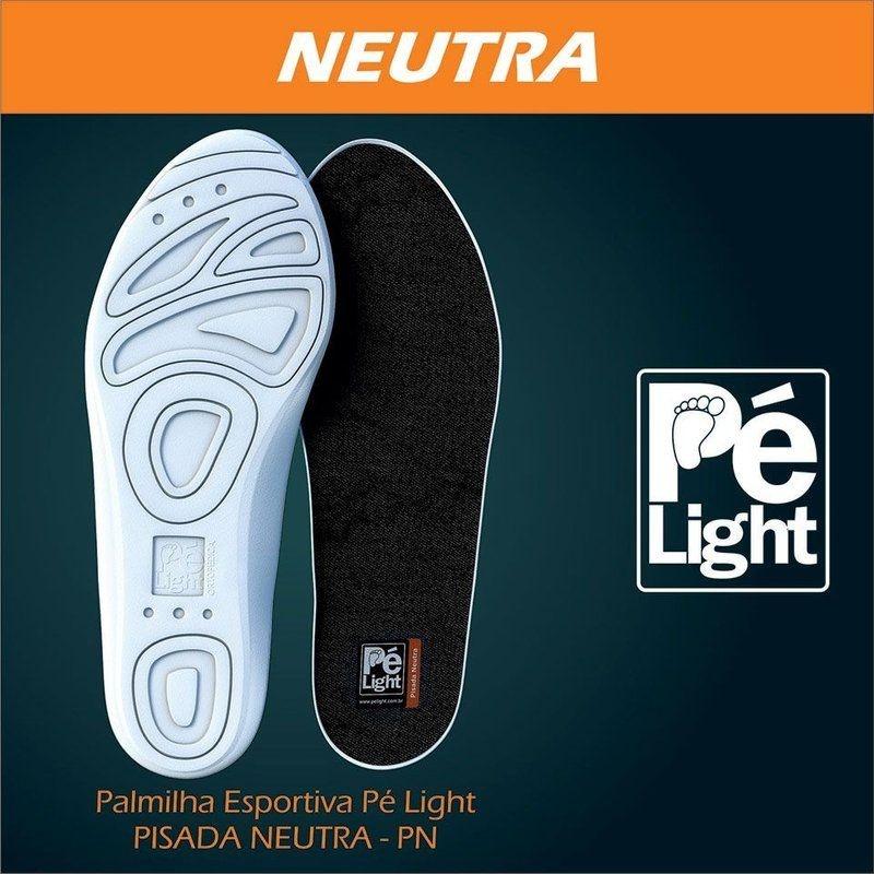 Palmilha Esportiva Pé Light Pisada Neutra