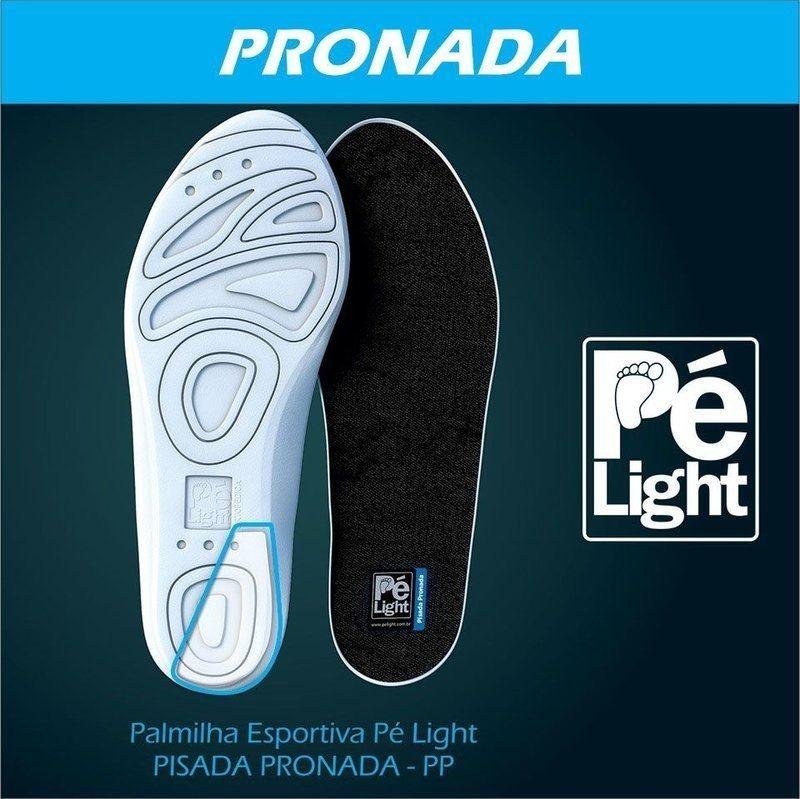 Palmilha Esportiva Pé Light Pisada Pronada