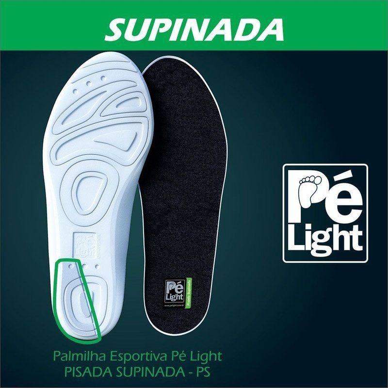 Palmilha Esportiva Pé Light Pisada Supinada