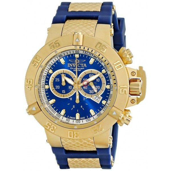 3e2d87383c9 Relógio Invicta Subaqua 5515 Noma lll Azul - Lojas Factory ...