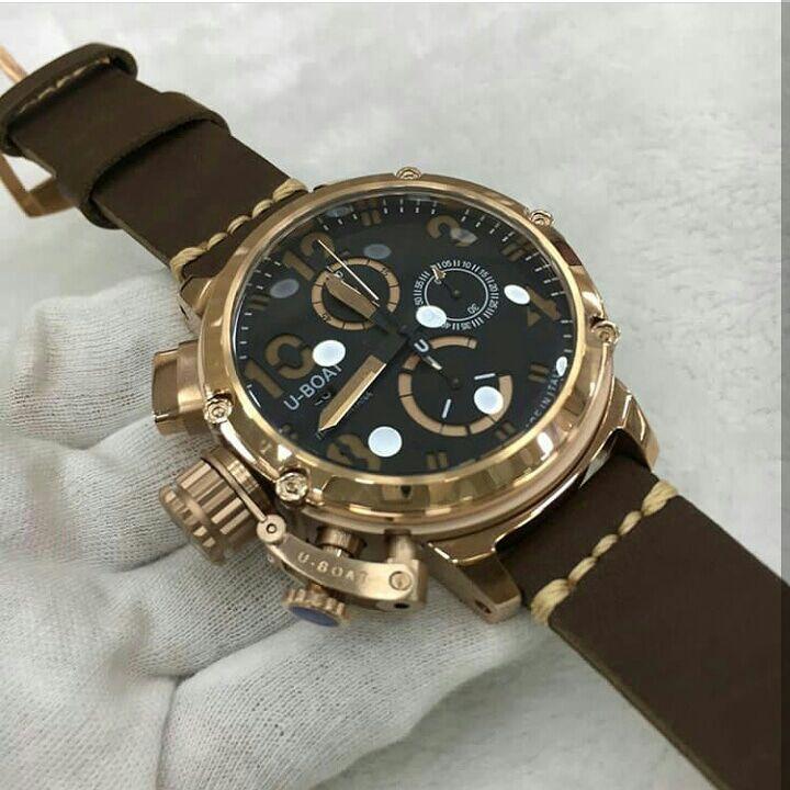 268e4fbb9e3 Relógio U-Boat Designer Italiano Ítalo Fontana Edição Limitada ...