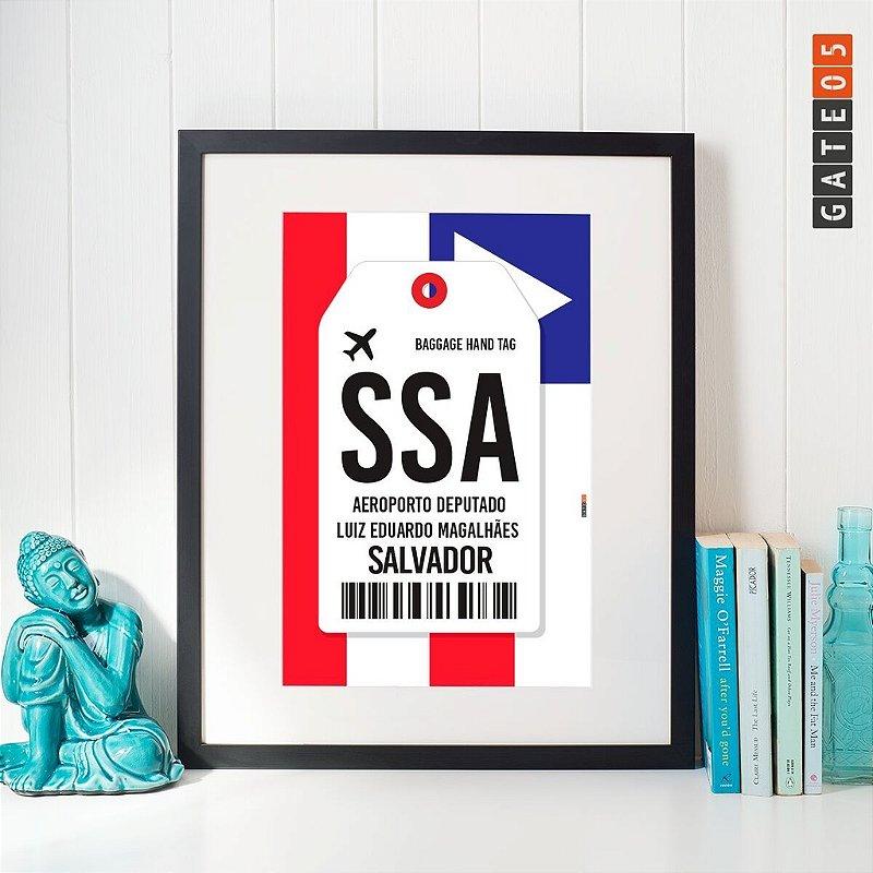 Pôster Aeroporto SSA - Salvador