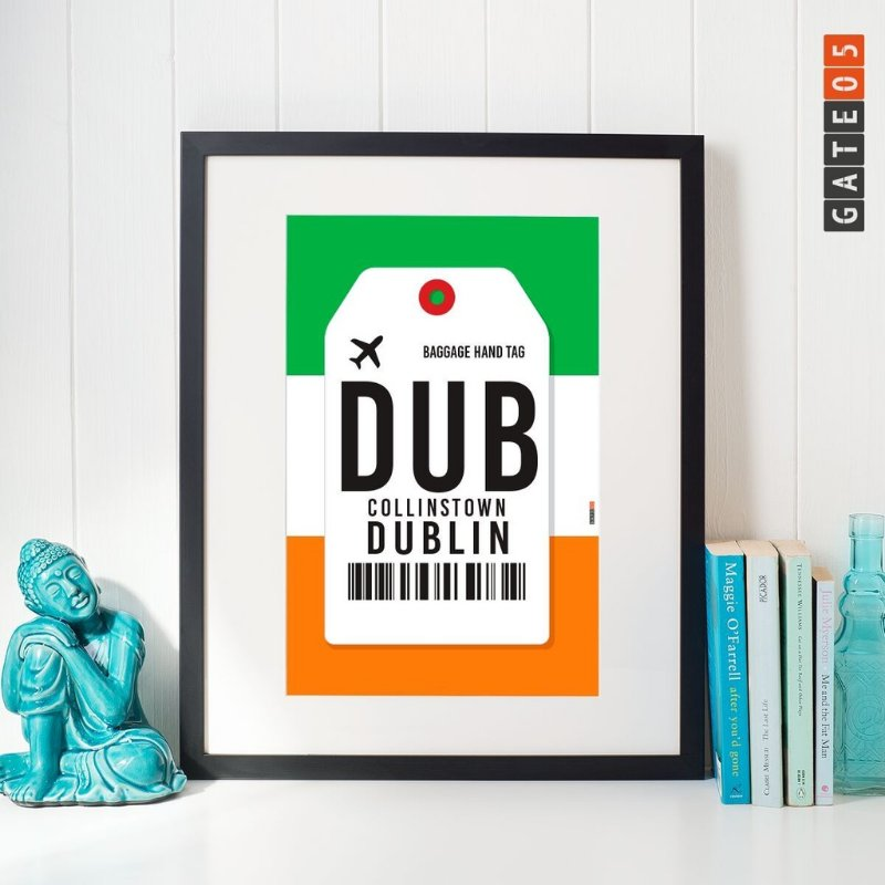Pôster Aeroporto DUB - Collinstown - Dublin - Irlanda