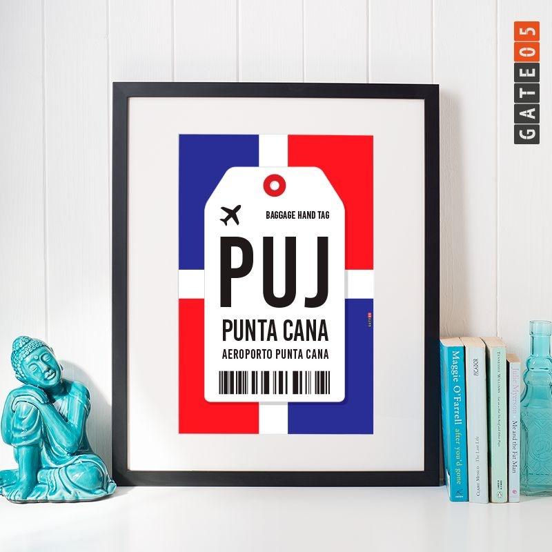 Pôster Aeroporto PUJ- Punta Cana - República Dominicana