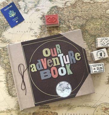 Álbum de Fotos - Our Adventure Book