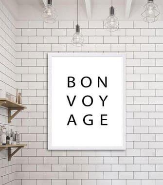 Pôster Bon Voyage