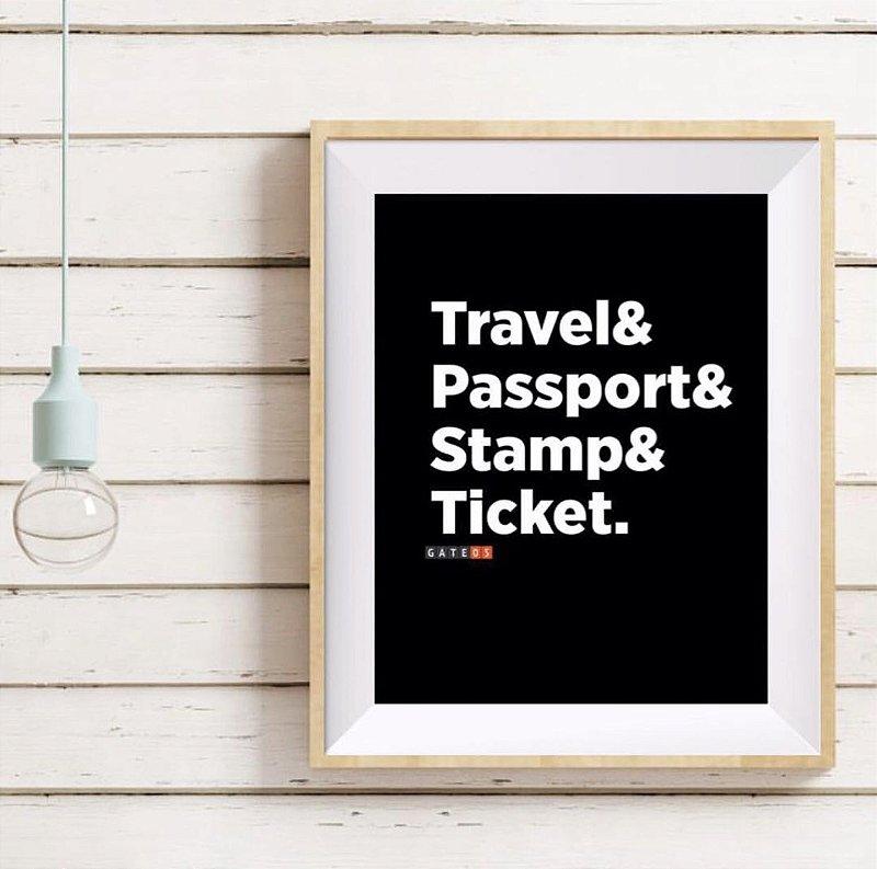Pôster Viajantes Travelers