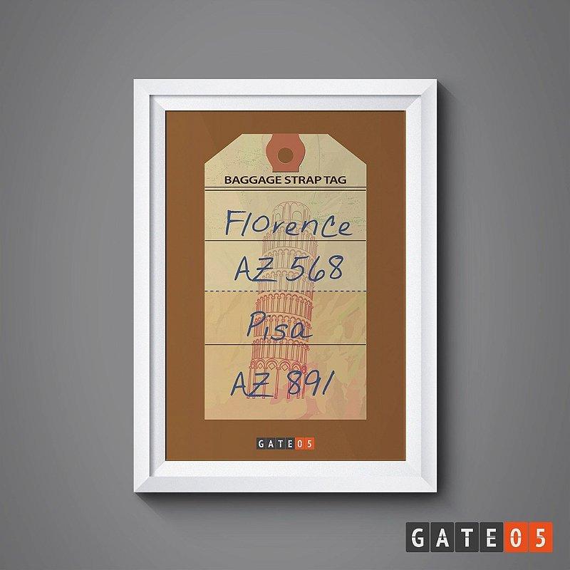 Pôster Tickets Worldwide - Florença, Itália