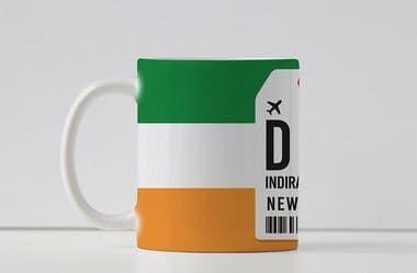Caneca Aeroporto DEL, Indira Gandhi - Nova Delhi - Índia