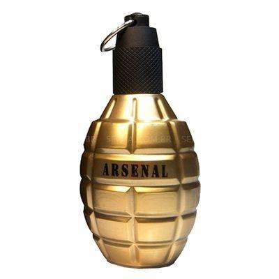 666f0f3bdb Arsenal Gold Gilles Cantuel - Perfume Masculino - Eau de Parfum - 100ml
