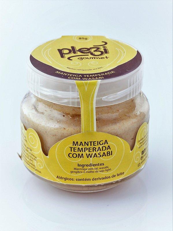 Manteiga Temperada com Wasabi