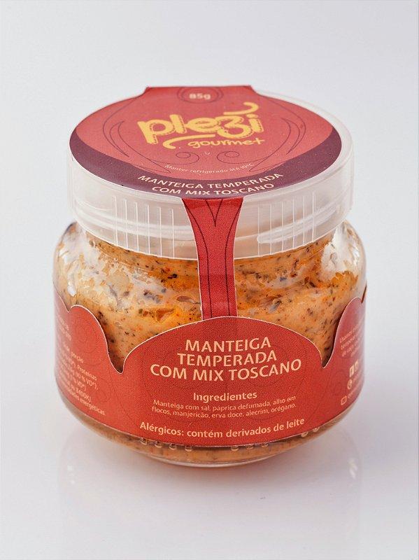Manteiga Temperada com Mix Toscano