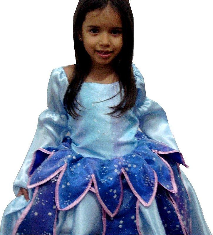 Vestido Princesa Ariel - A Pequena Sereia