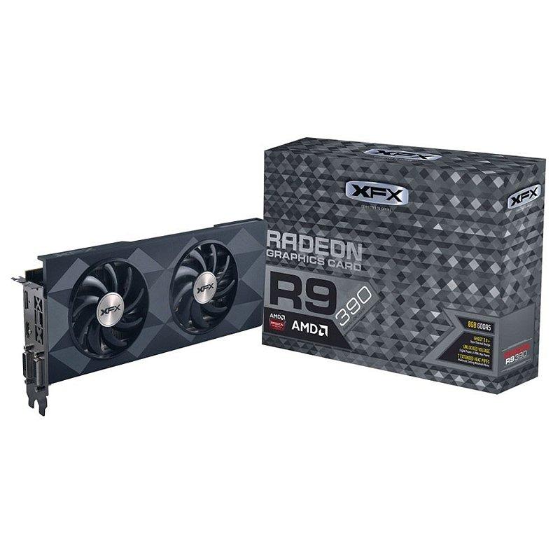 Placa De Vídeo AMD Radeon R9 390