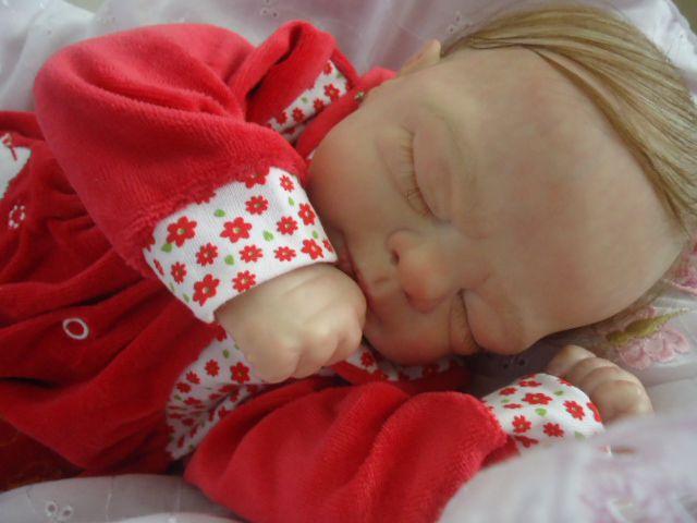 Bebê Reborn, menina com 53 cm e 2,1 kg aproximadamente